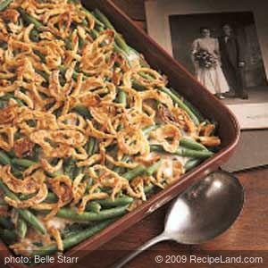 Green Bean and Fried Onion Casserole