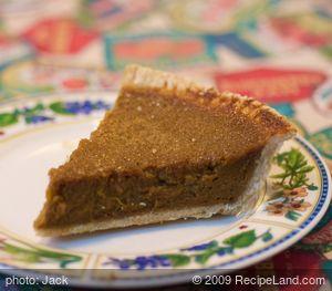 Basic Pumpkin Pie