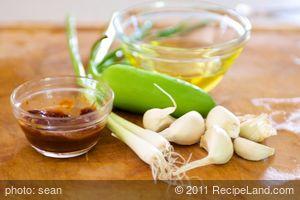 Chile Garlic Wet Marinade Paste