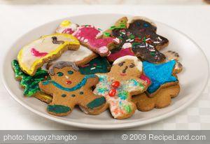 """Grandma's"" Gingerbread Cut-Out Cookies"