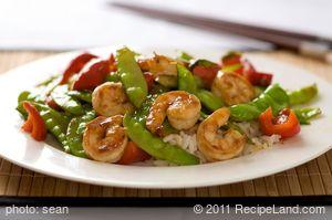 Secret Shrimp Stir Fry