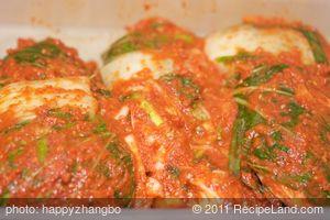 Homemade Kimchee