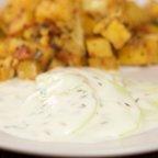 Cucumber Yogurt Sauce Indian - Raita