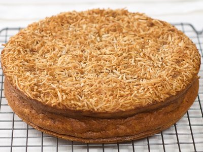 Jamaican Sweet Potato Pudding Cake