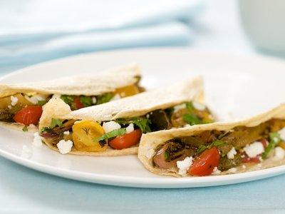 Grilled Summer Vegetable Taco