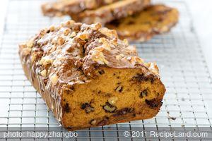 Chocolate Chip, Walnuts and Pumpkin (Squash) Bread