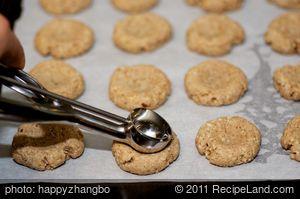 Almond Thumbprint Cookies (Low Fat, Low Calorie)