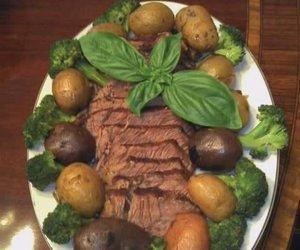 Basil Beef Roast