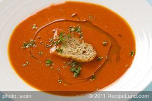 Creamy Creamless Tomato Soup