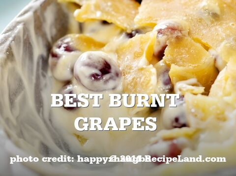 Best Burnt Grapes