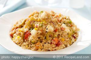 Greek Millet Salad