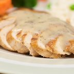 Grilled Chicken with Creamy Herb Sauce