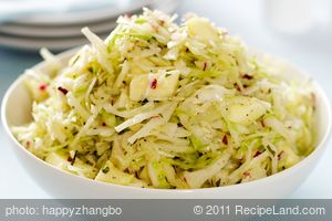 Sweet 'n Sour Cabbage and Apple Salad
