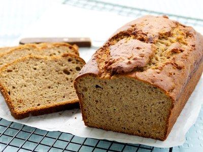 100% Whole Wheat Banana Bread