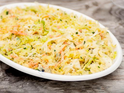 Herbed buttermilk coleslaw