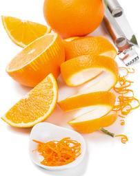 orange zest/rind/peel