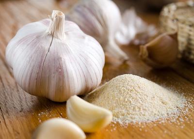 garlic head, cloves, garlic salt/powder